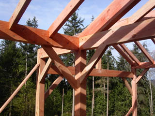 Northwest Timber Frames Wood Selections